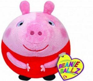 Peluche palla Peppa Pig 13cm