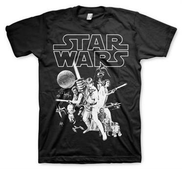 Star Wars Classic Poster T-Shirt
