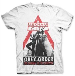 Batman Arkham City - Obey Order T-Shirt