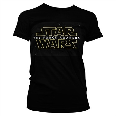 The Force Awakens Logo T-shirt donna
