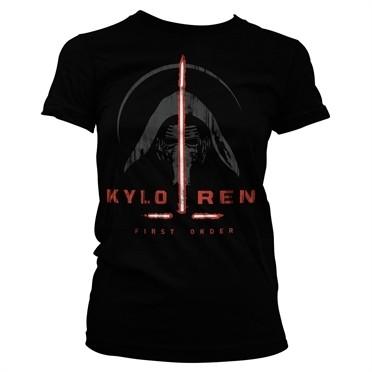 Kylo Ren First Order T-shirt donna