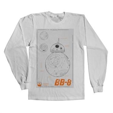 BB-8 Blueprint Long Sleeve T-shirt