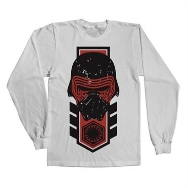 Kylo Ren Distressed Long Sleeve T-shirt