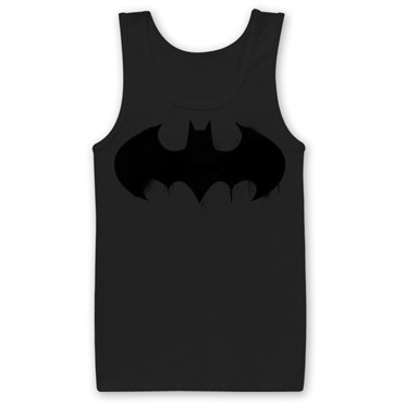 Batman Inked Logo Tank Top