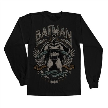 Dark Knight Crusader Long Sleeve T-shirt