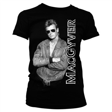 Cool Macgyver T-shirt donna