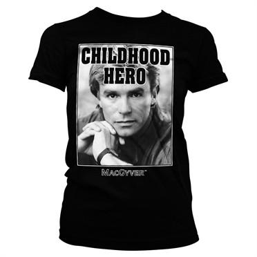 Macgyver - Childhood Hero T-shirt donna