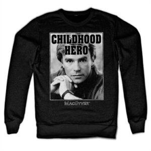 Macgyver - Childhood Hero Felpa