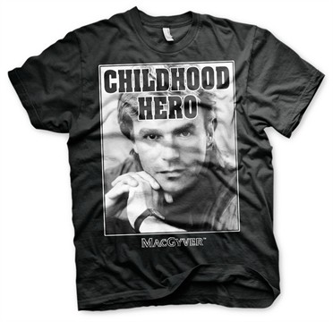 Macgyver - Childhood Hero T-Shirt