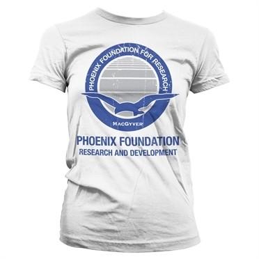 Macgyver - Phoenix Foundation T-shirt donna
