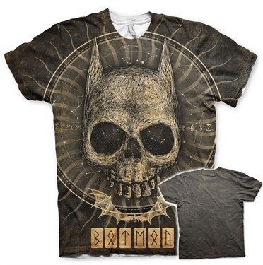 Batman Gothic Skull Allover T-Shirt