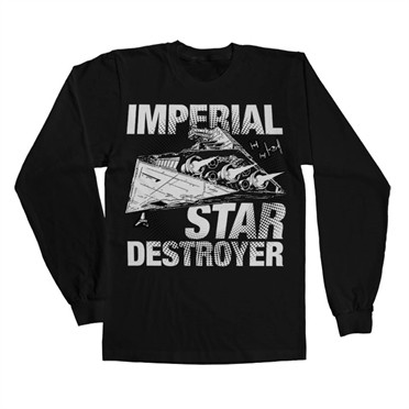 Imperial Star Destroyer Long Sleeve T-shirt