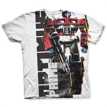 Optimus Prime Allover T-Shirt
