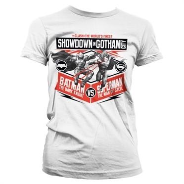 Showdown In Gotham City T-shirt donna