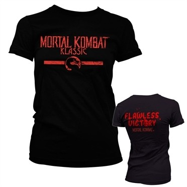 Mortal Kombat Klassic T-shirt donna