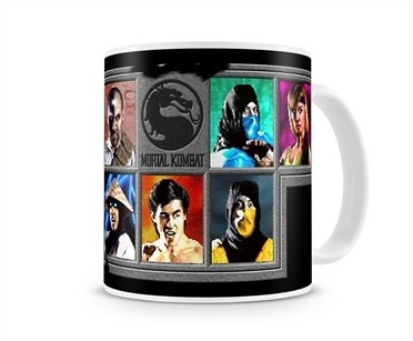 Mortal Kombat Tazza Mug