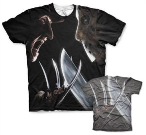 Freddy vs Jason Allover T-Shirt