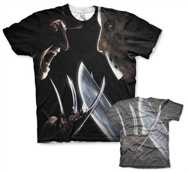 Freddy vs Jason Allover T-Shirt