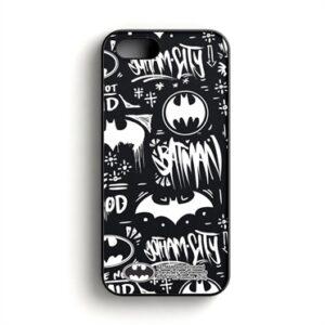 Batman Pattern Phone Cover