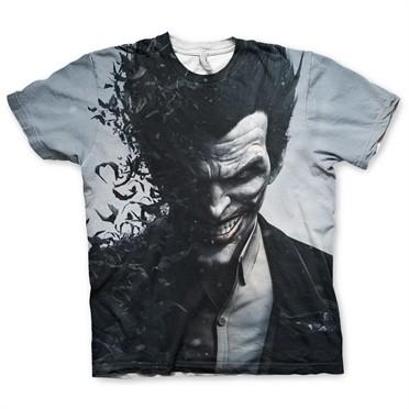 Arkham Origins Joker Allover T-Shirt