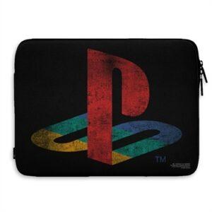 Playstation Distressed Logo Custodia Notebook