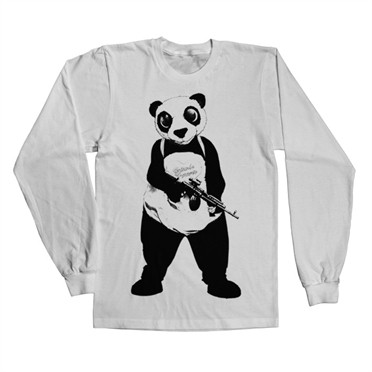 Suicide Squad Panda Long Sleeve T-Shirt