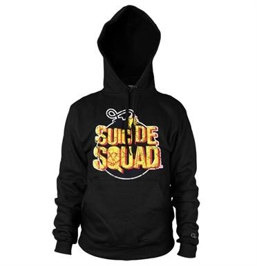 Suicide Squad Bomb Logo Felpa con Berrettopuccio