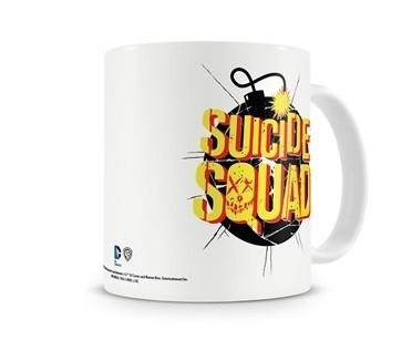 Suicide Squad Bomb Logo Tazza Mug
