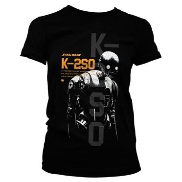 Star Wars Rogue One K-2SO T-shirt donna