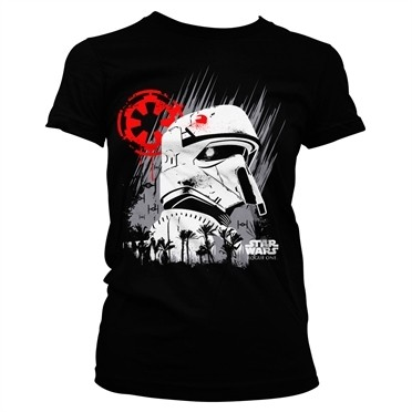 Rogue One Shore Trooper T-shirt donna