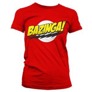 Bazinga Super Logo T-shirt donna