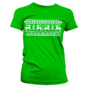Scandinavian Christmas T-shirt donna