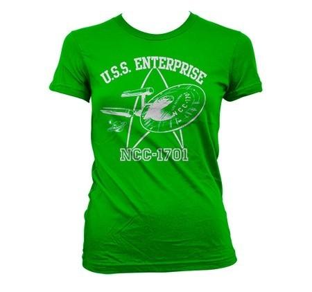 Star Trek - U.S.S. Enterprise T-shirt donna