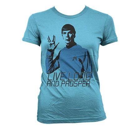 Star Trek - Live Long And Prosper T-shirt donna