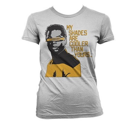 Star Trek - My Shades Are Cooler Than Yours T-shirt donna