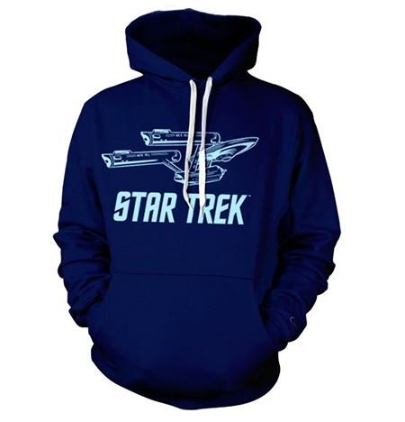 Star Trek / Enterprise Ship Felpa con Berrettopuccio