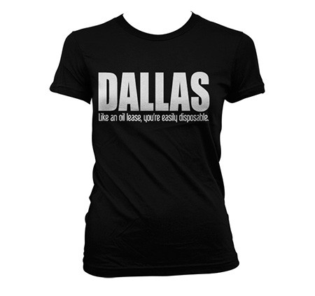 Dallas Logotype T-shirt donna