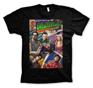 Big Bang Theory - Bazinga Comic Cover T-Shirt