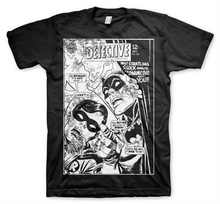 Batman - Dynamic Duo Distressed T-Shirt