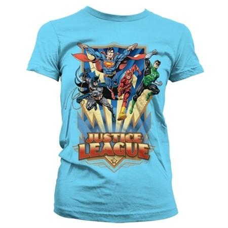 Justice League - Team Up! T-shirt donna