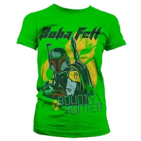 Bob Fett - Bounty Hunter T-shirt donna