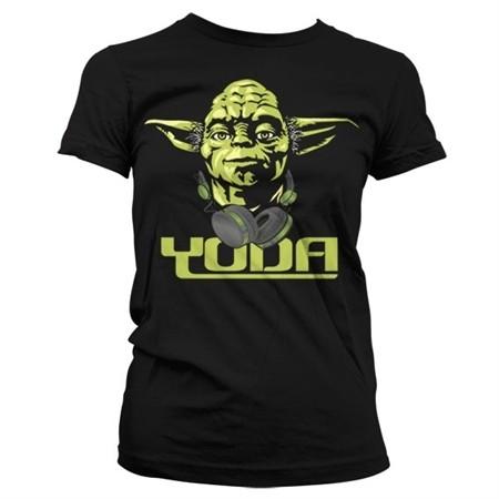 Cool Yoda T-shirt donna