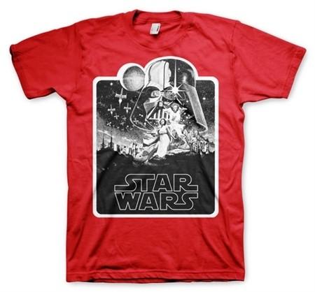 Star Wars Deathstar Poster T-Shirt