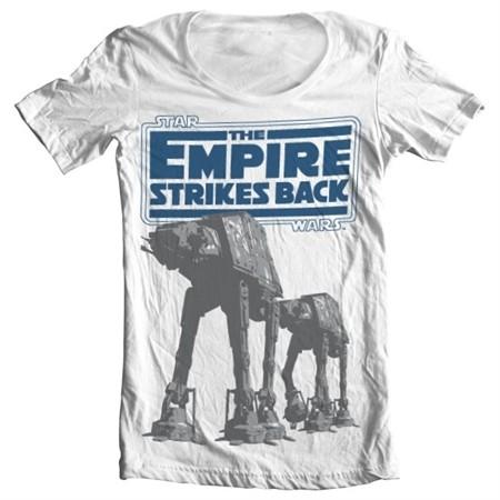 Empire Strikes Back AT-AT T-shirt donna