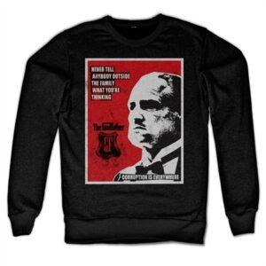 Godfather - Never Tell Anybody Felpa