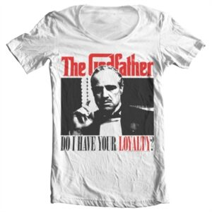 Godfather - Do I Have Your Loyalty T-shirt collo largo