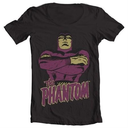 The Phantom T-shirt collo largo