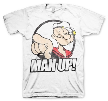 Popeye - Man Up! T-Shirt