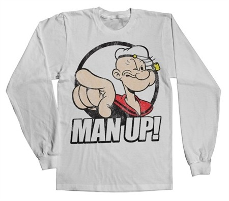 Popeye - Man Up! Long Sleeve T-shirt