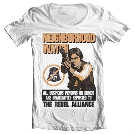 Star Wars - The Rebel Alliance T-shirt collo largo